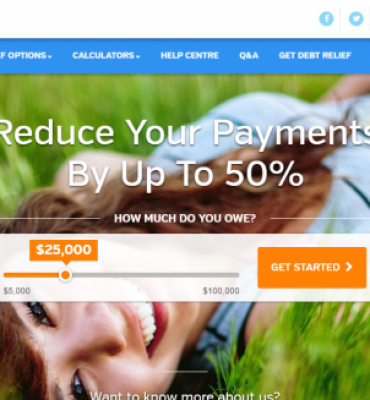 SEO optimization and content marketing for Debt.ca