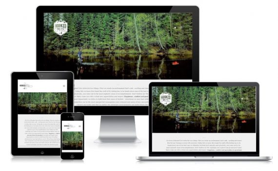 Hooked Vets Fly Fishing Website Design