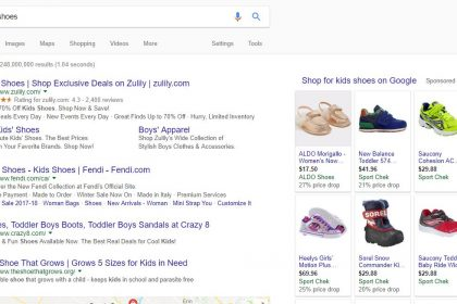 SEO for an Ottawa Ontario Shoe Store