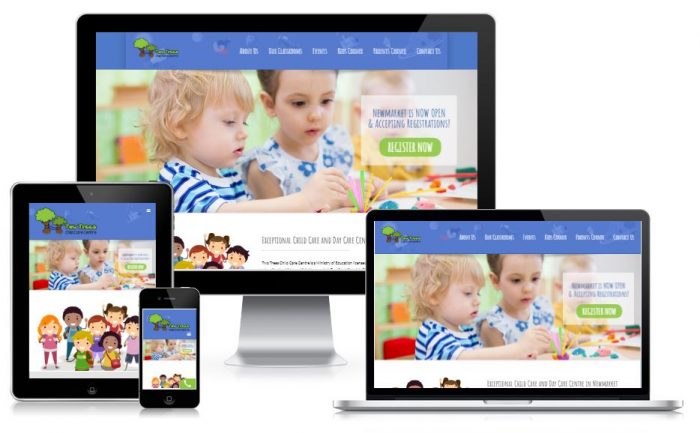 Childcare-website-design-mississauga-ontario