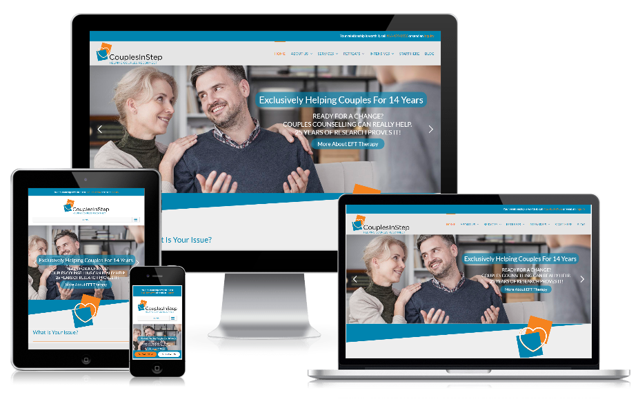Relationship Counselor Website Design